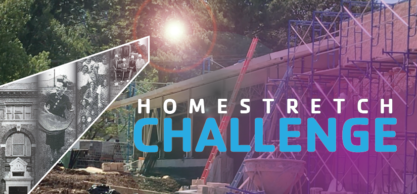 Homestretch Challenge Home Slider