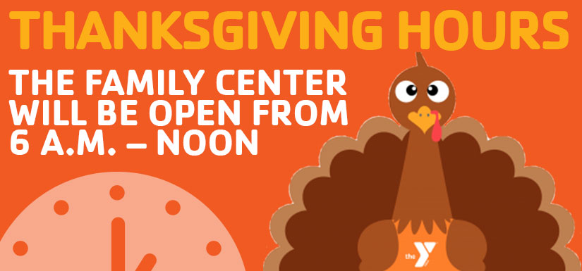 We are Open on Thanksgiving